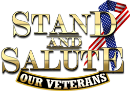 Stand and Salute: Our Veterans Documentary Logo